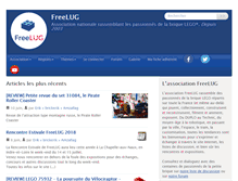 Tablet Preview of freelug.fr